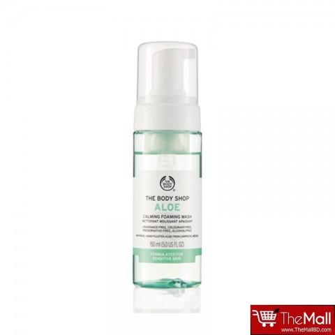 The Body Shop Aloe Calming Foaming Wash 150ml