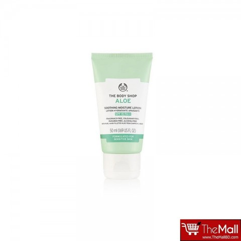 The Body Shop Aloe Soothing Moisture Lotion Spf 15 - 50ml