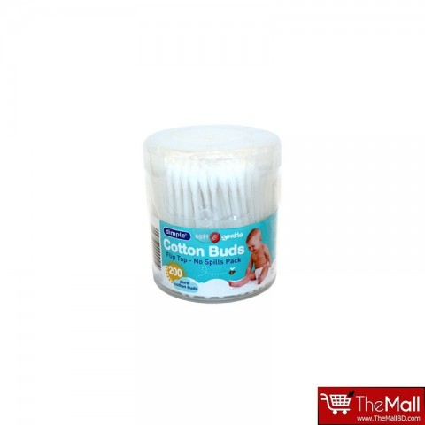 Dimple Cotton Buds (200 Pack)