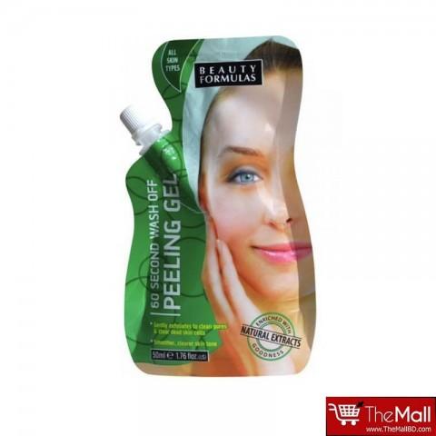 Beauty Formulas 60 Second Wash Off Peeling Gel 50ml