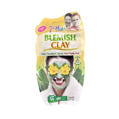 7th Heaven Montagne Jeunesse Blemish Clay Hard Drying Face Mask 20g
