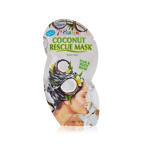 7th Heaven Montagne Jeunesse Coconut Rescue Hair & Root Mask 25ml