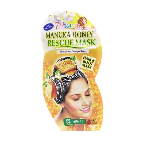 7th Heaven Montagne Jeunesse Manuka Honey Rescue Hair & Root Mask 25ml