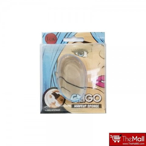 J.Cats Beauty Siligo Makeup Sponge Applicator Blue