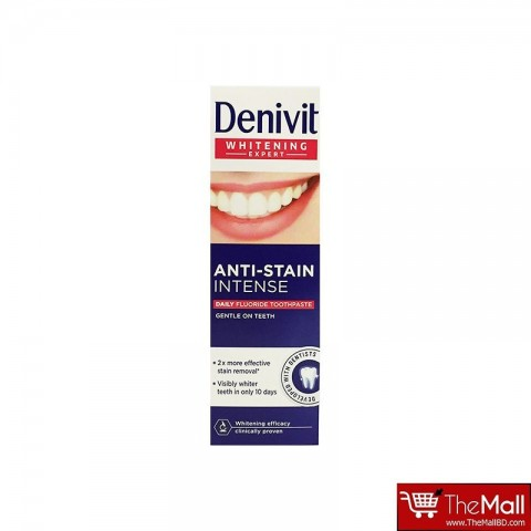 Denivit Anti Stain Intense Daily Fluoride Toothpaste 50ml