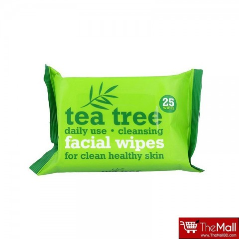 Xpel Tea Tree Daily Use Cleansing Facial Make Up Wipes