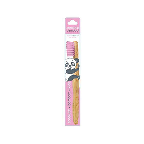Absolute Bamboo Kids Children's Toothbrush - Pink
