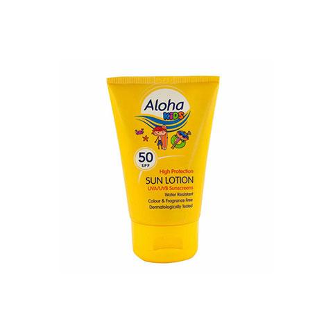 Aloha Kids High Protection SPF50 Sun Lotion 50ml