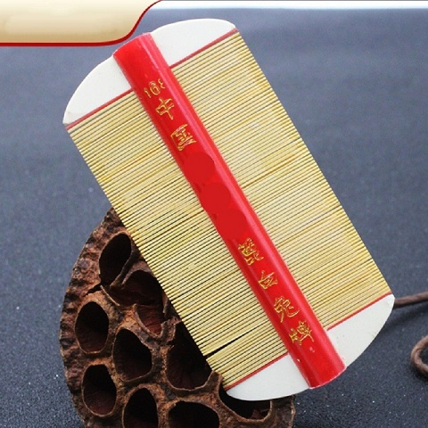 Antique Chinese Lice Hair Comb