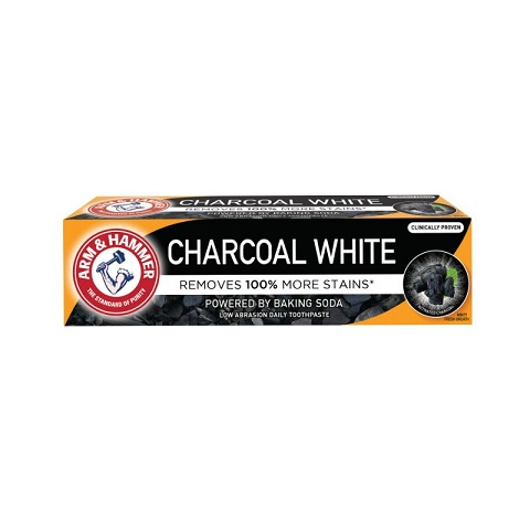 Arm & Hammer Charcoal White Toothpaste 75ml