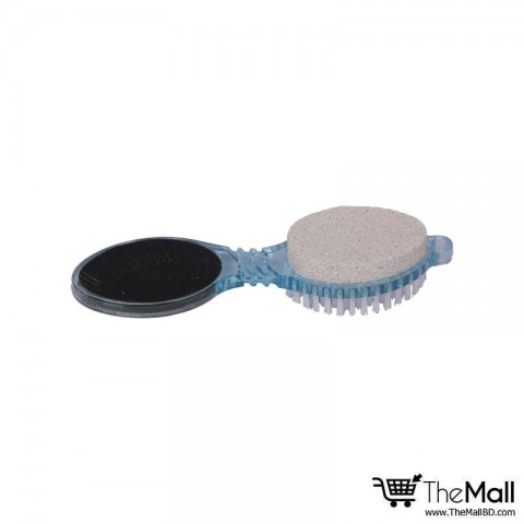 Athena Beaute Pedicure Tool 4 in 1 Shower Brush - Blue