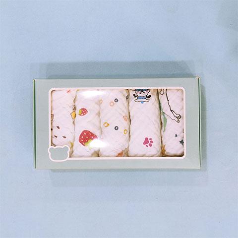 Baby Cotton Nursing Towel - 5pcs