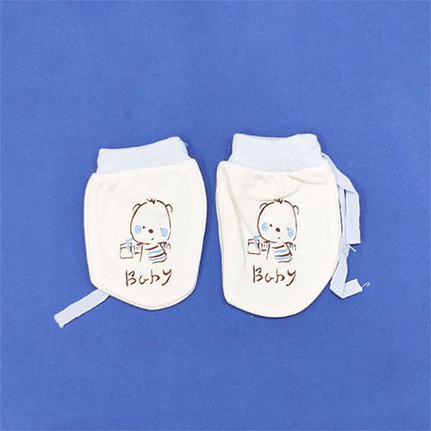 Baby Fashion Ying Er Yong Pin Baby Gloves - Blue