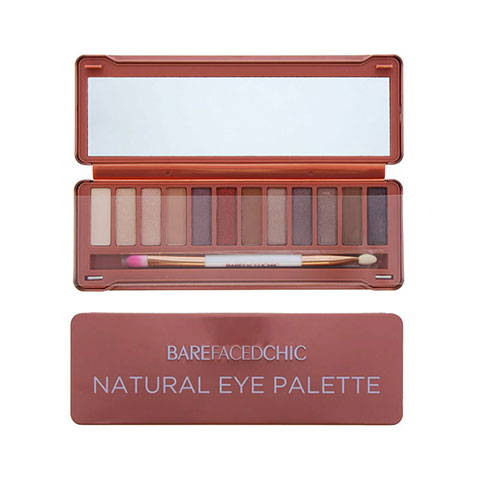 Bare Faced Chic Natural Eyeshadow Palette