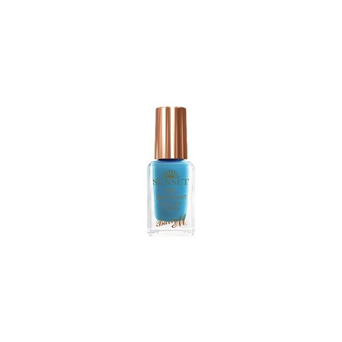 Barry M Cosmetics Sunset Gel Nail Paint - The Way You Make Me Teal
