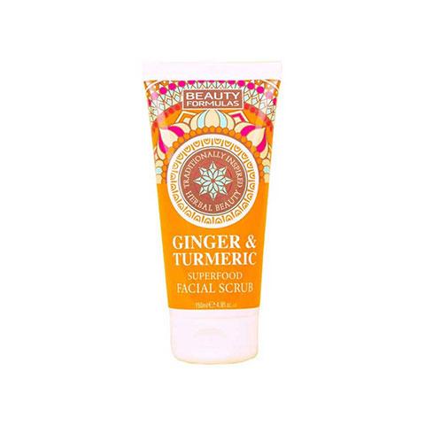 Beauty Formulas Ginger & Turmeric Superfood Facial Scrub 150ml