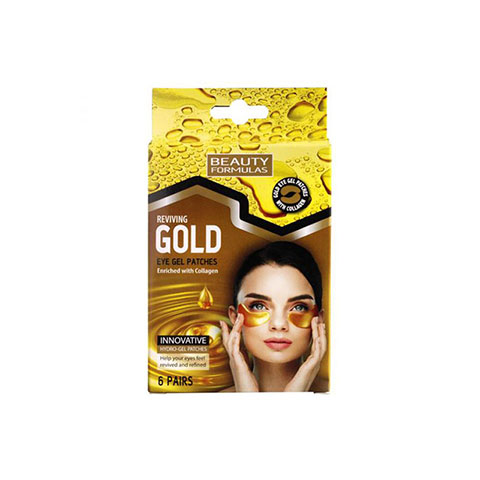 Beauty Formulas Reviving Gold Eye Gel Patches 6 Pairs