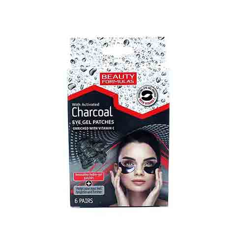 Beauty Formulas With Activated Charcoal Eye Gel Patches 6 Pairs