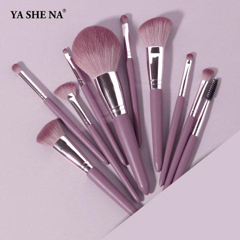 Beauty Makeup Brush Full Set - Purple (20104)