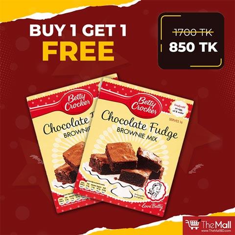 Betty Crocker Chocolate Cake Mix Buy 1 Get 1