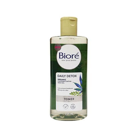 Biore Daily Detox Organic Cannabis Sativa Seed Oil Toner 235ml