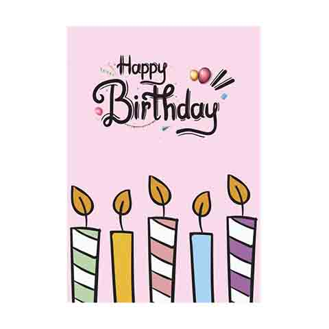 Birthday Gift Card - VL024