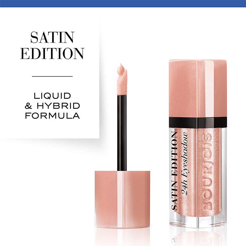 Bourjois Satin Edition 24H Eyeshadow - 02 Oh De Roses
