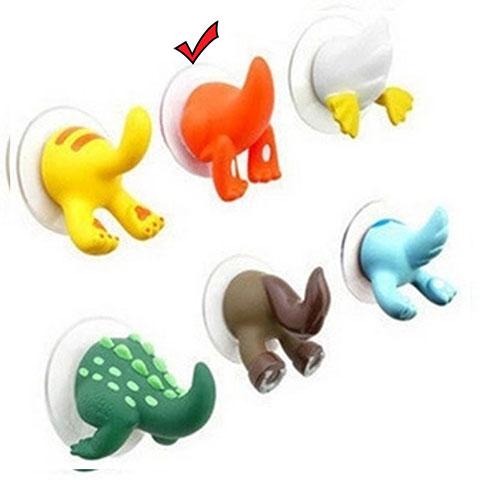 Cartoon Animal Tail Hook - Orange