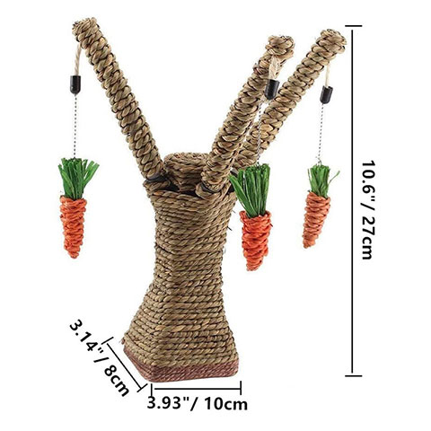 Cat Climbing Frame Carrot Toy Tree