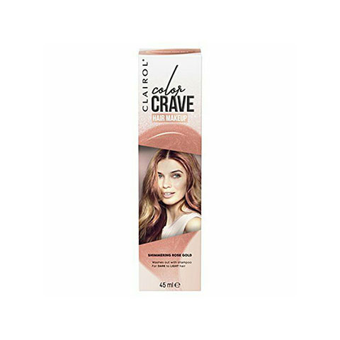 Clairol Colour Crave Hair Makeup 45ml - Shimmering Rose Gold