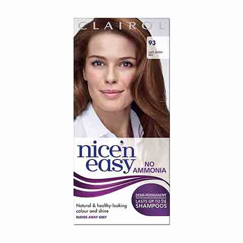 Clairol Nice N Easy No Ammonia Hair Colour Dye - 93 Light Golden Red
