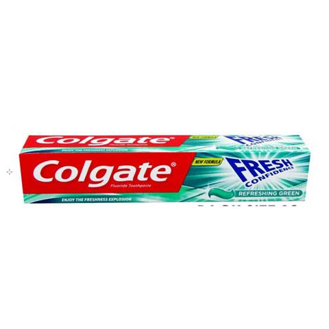 Colgate Fresh Confidence Refreshing Green Toothpaste 75ml