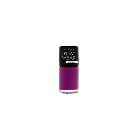 Collection Up To 7 Day Wear Nail Polish 8ml - 13, Purplicious