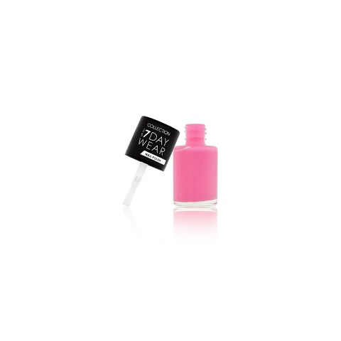 Collection Up To 7 Day Wear Nail Polish 8ml - 4, Pink Cadillac