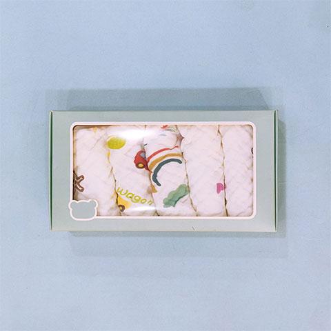 Combed Cotton Nursing Towel Handkerchief Small Square (1480)