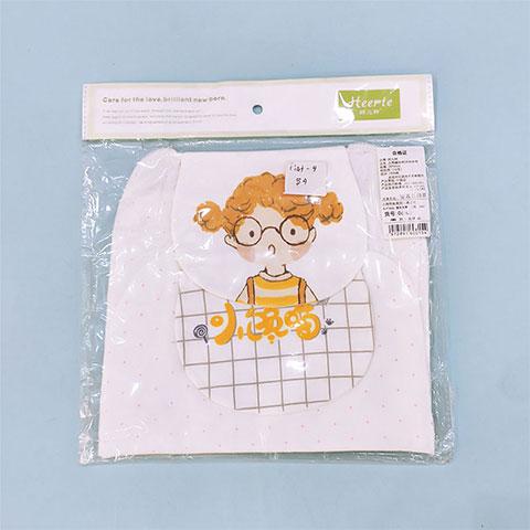Cotton Wool Sweat Medium Towel - Cartoon Girl