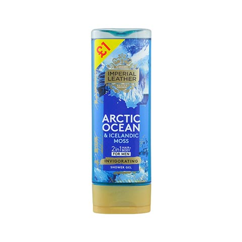 Cussons Imperial Leather Arctic Ocean & Icelandic Moss Shower Gel for Men 250ml