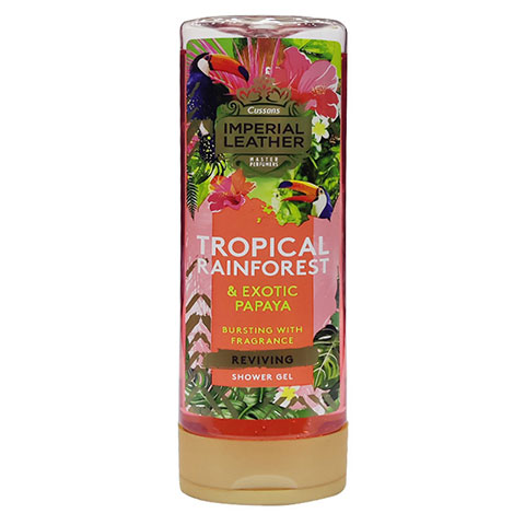 Cussons Imperial Leather Tropical Rainforest & Exotic Papaya Shower Gel 500ml