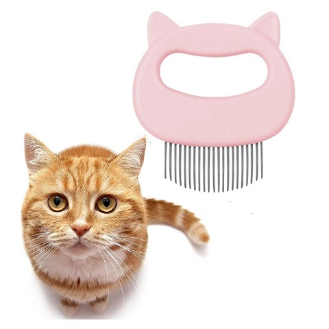 Cute Cat Head Design Cat Comb (20193)