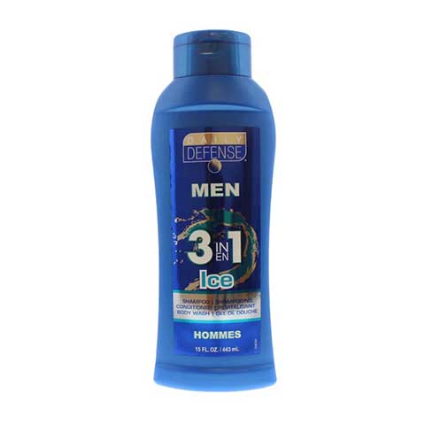 Daily Defense Men 3 in 1 Ice Hommes 443ml
