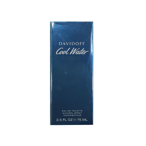 Davidoff Cool Water Eau De Toilette Natural Spray 75ml