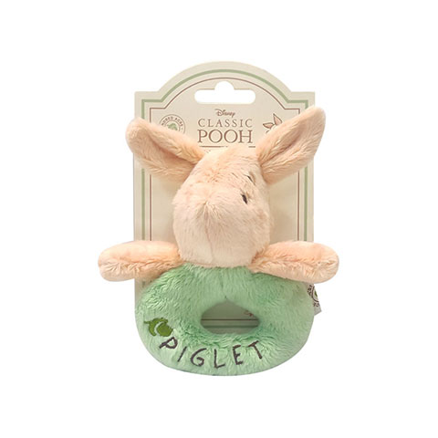 Disney Classic Pooh Ring Rattle - Piglet (4795)