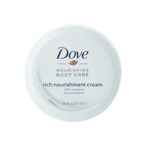 Dove Nourishing Body Care Rich Nourishment Cream 75ml
