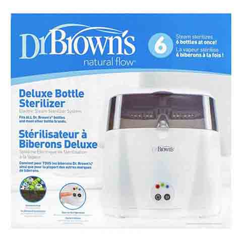 Dr Brown's Deluxe Bottle Electric Steame Steriliser (3986)