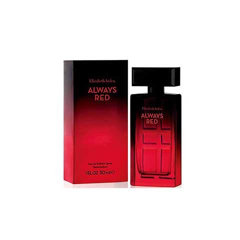 Elizabeth Arden Always Red Eau De Toilette Spray 30ml