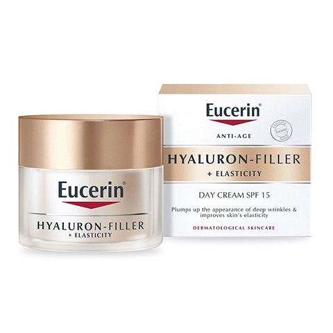 Eucerin Anti-Age Hyaluron Filler + Elasticity SPF15 Day Cream 50ml