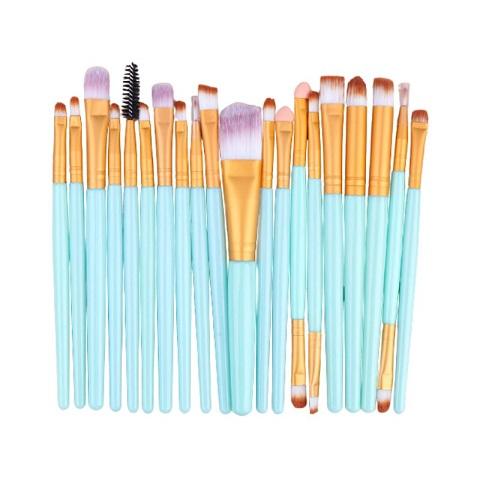 Eye Makeup Brush 20 Pieces Set - Paste (20105)