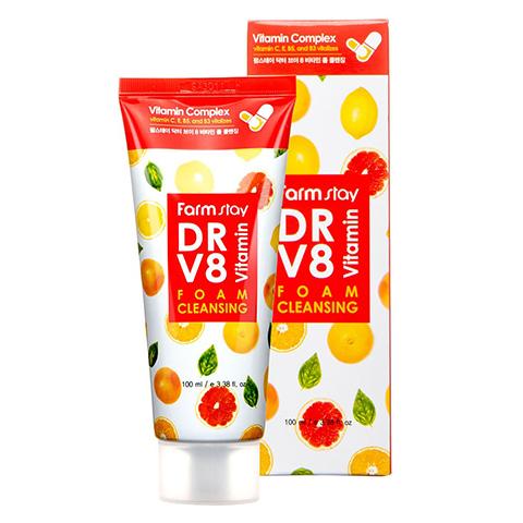 Farm Stay Dr-V8 Vitamin Foam Cleansing 100ml