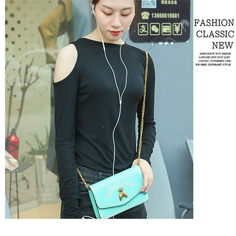 Women's Fashionable Embroidery Messenger Bag