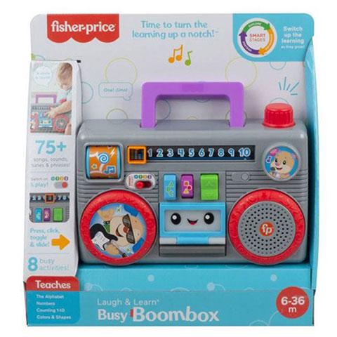 Fisher-Price Laugh & Learn Boom Box - 6-36m